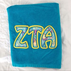 Other - Zeta Tau Alpha Beach Towel